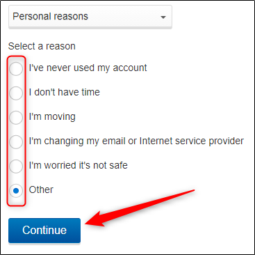Select-a-reason-and-click-continue.png