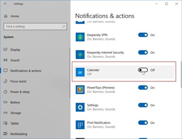 add or delete reminders in Windows 10 Calendar pic13