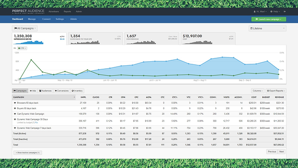 perfect audience hubspot integration campaign analysis demo