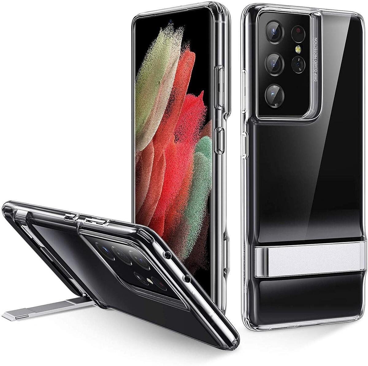 ESR Metal Kickstand Case for Galaxy S21 Ultra