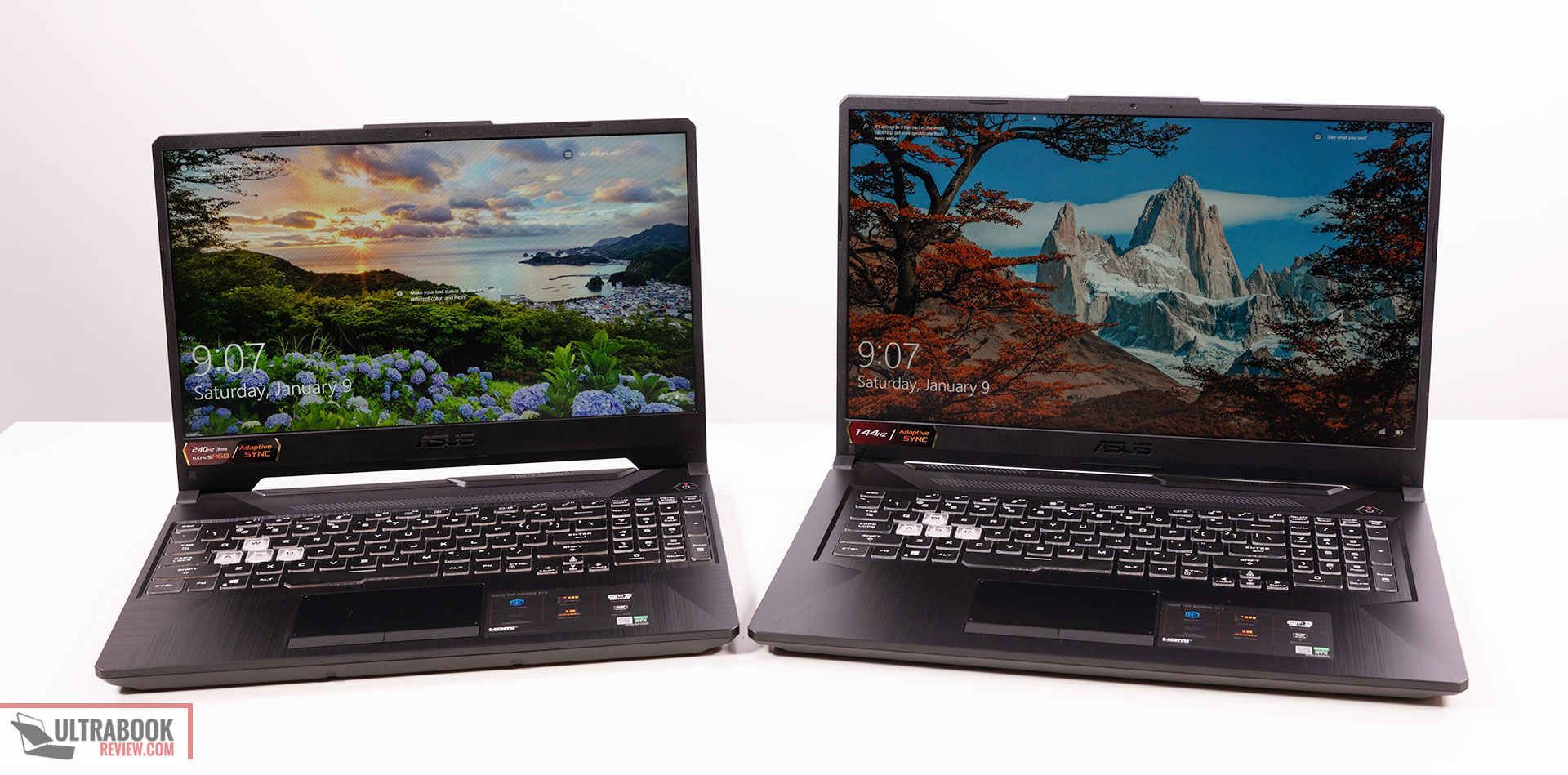 2021 Asus TUF Gaming A15 and A17 laptops