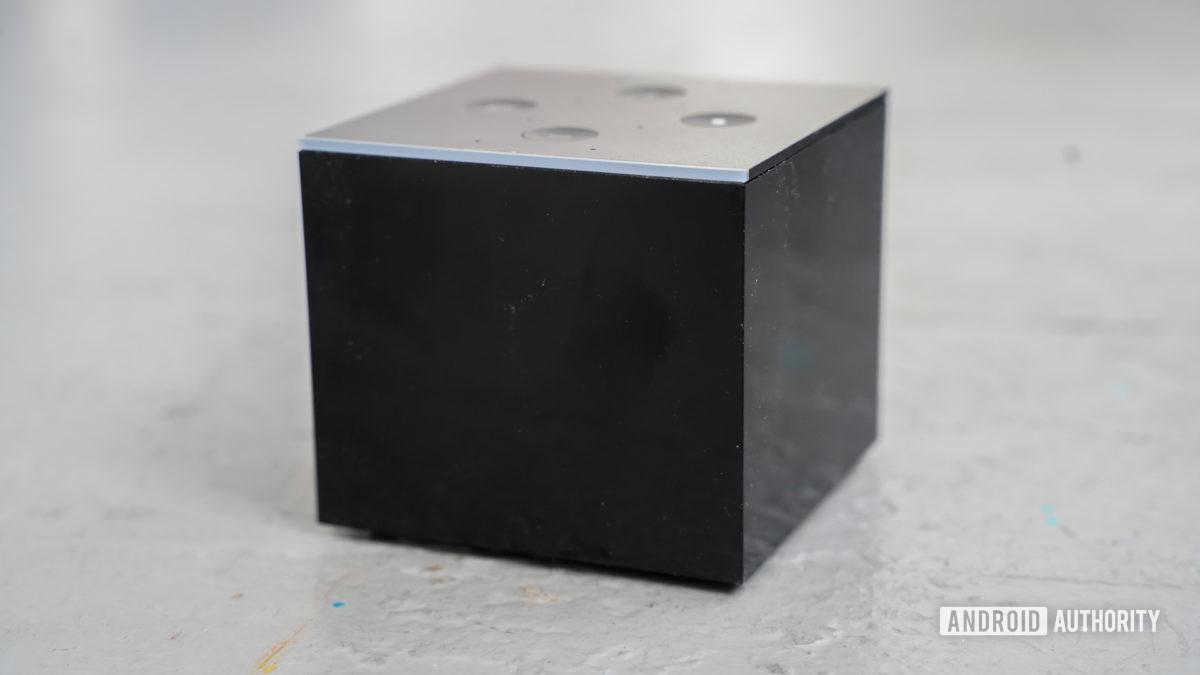 Amazon Fire TV Cube profile shot