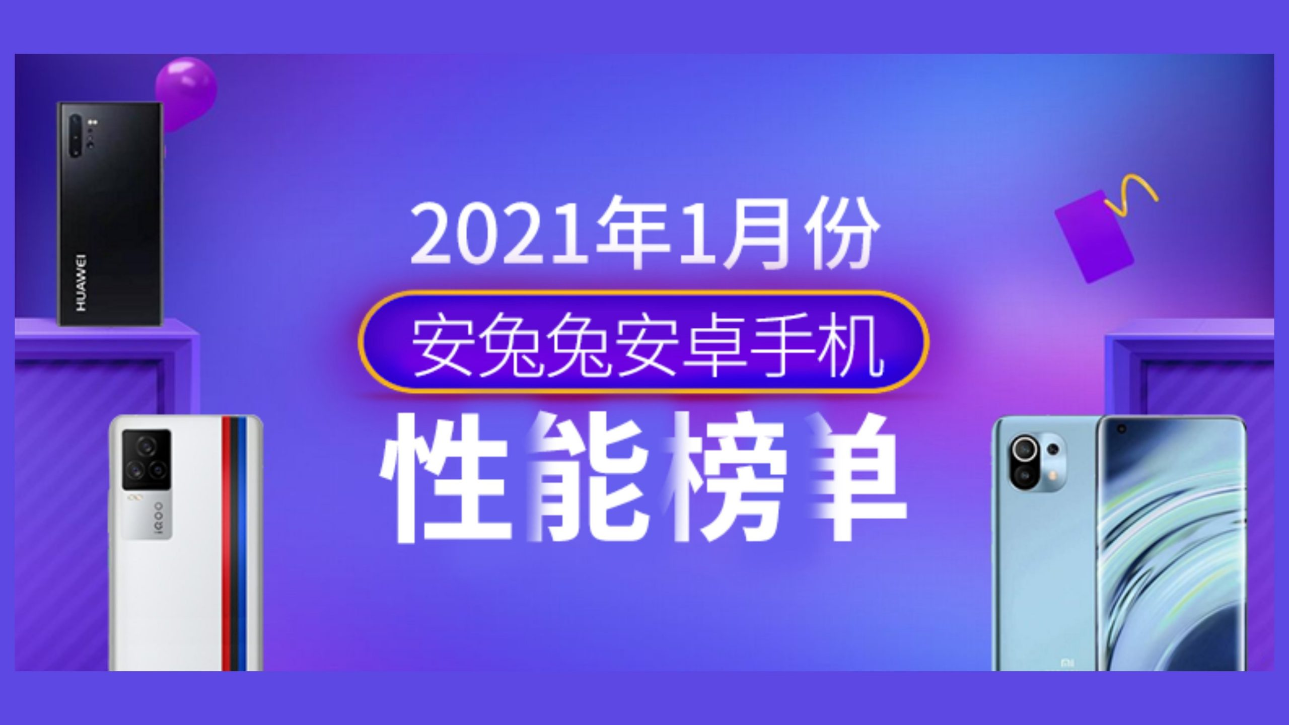 AnTuTu Benchmark Best Performing Android Smartphones January 2021