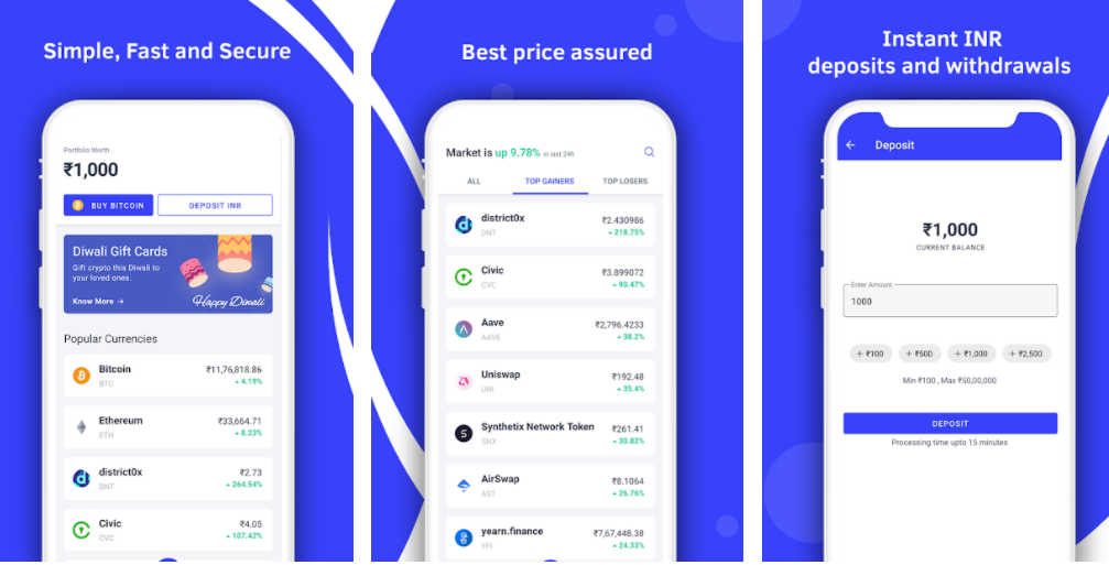 CoinSwitch - 5 Best Crypto Exchanges to Buy & Sell Bitcoin and Other Cryptocurrencies in India