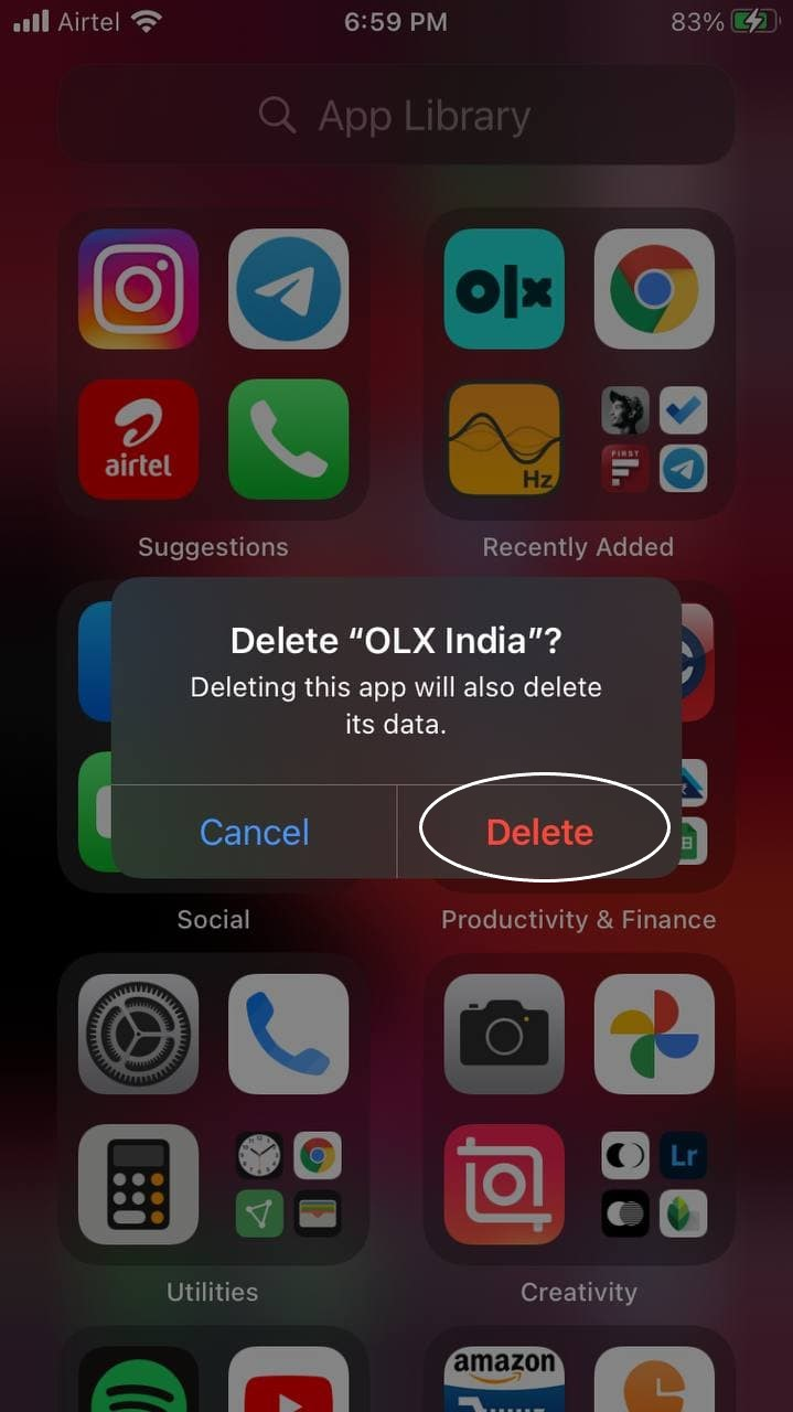 Fix Unable to Remove Apps on iOS 14