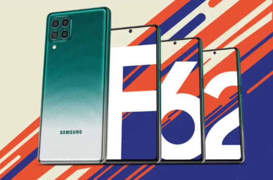 Galaxy F62 Flipkart teaser