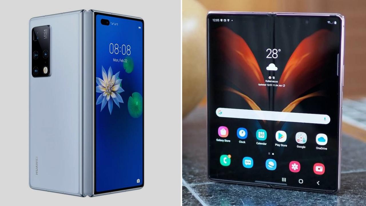 Huawei-Mate-X2-vs-Galaxy-Z-Fold-2