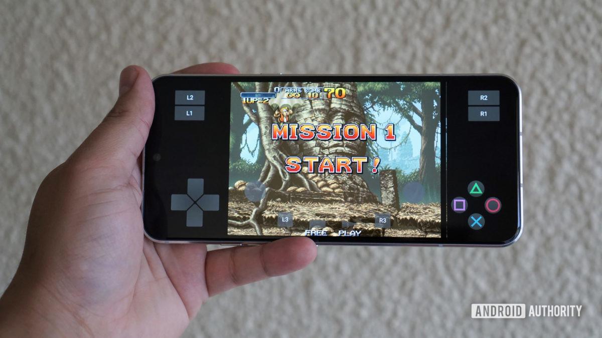 PS2 emulator android metal slug