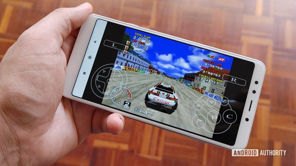 Redmi 5 Sega Saturn