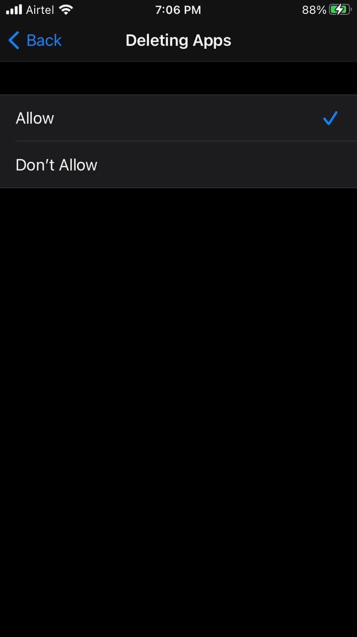 Can't Remove Apps on iPhone
