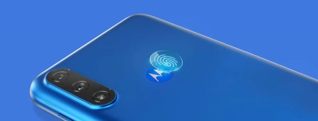 Moto E7 Power will use a physical fingerprint scanner at the back.