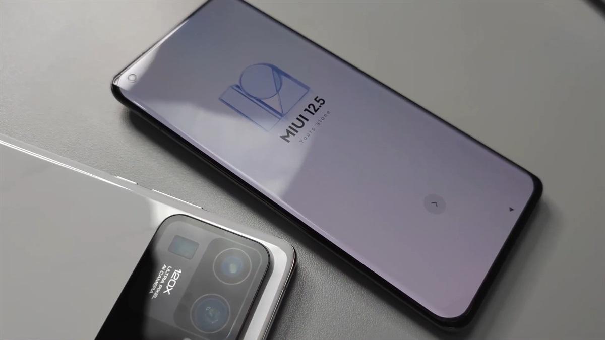 MIUI 12.5 on the Xiaomi Mi 11 Ultra