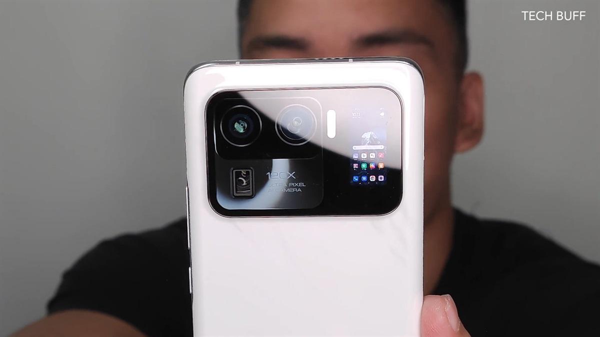 Xiaomi Mi 11 Ultra in white