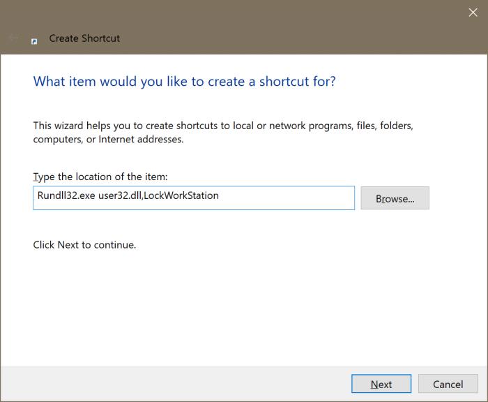 add Lock option to Start and taskbar in Windows 10 pic2