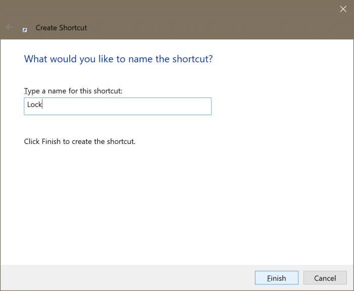 add Lock option to Start and taskbar in Windows 10 pic3