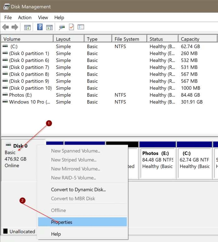 check if your PC has NVMe SSD or SATA SSD In Windows 10 pic2