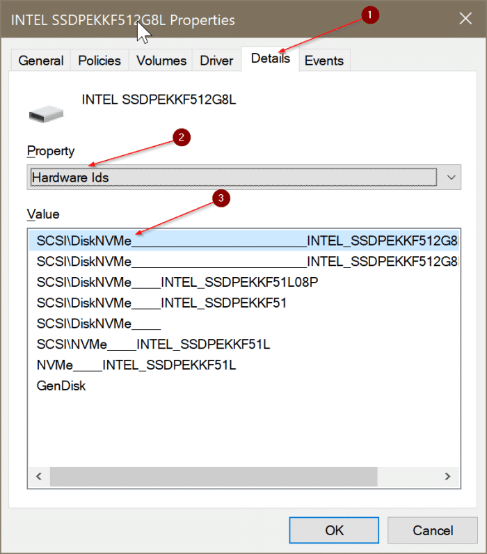 check if your PC has NVMe SSD or SATA SSD In Windows 10 pic3