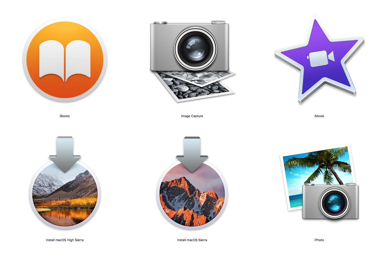 Install files for macOS