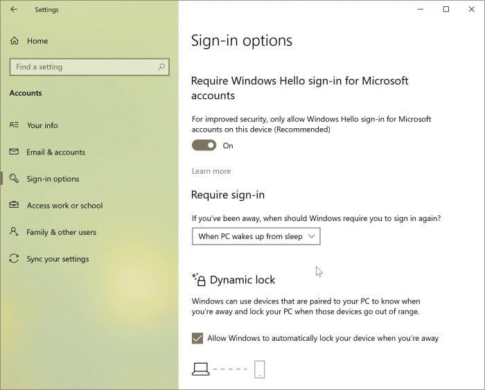 lock Windows 10 pc3