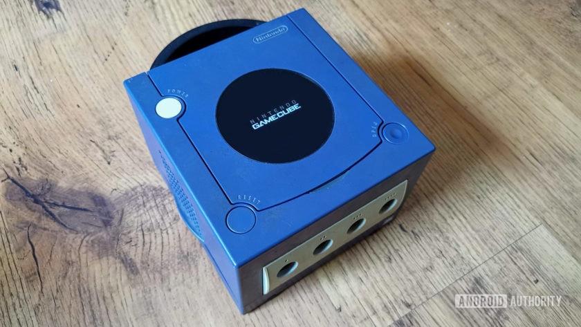 The Nintendo GameCube.