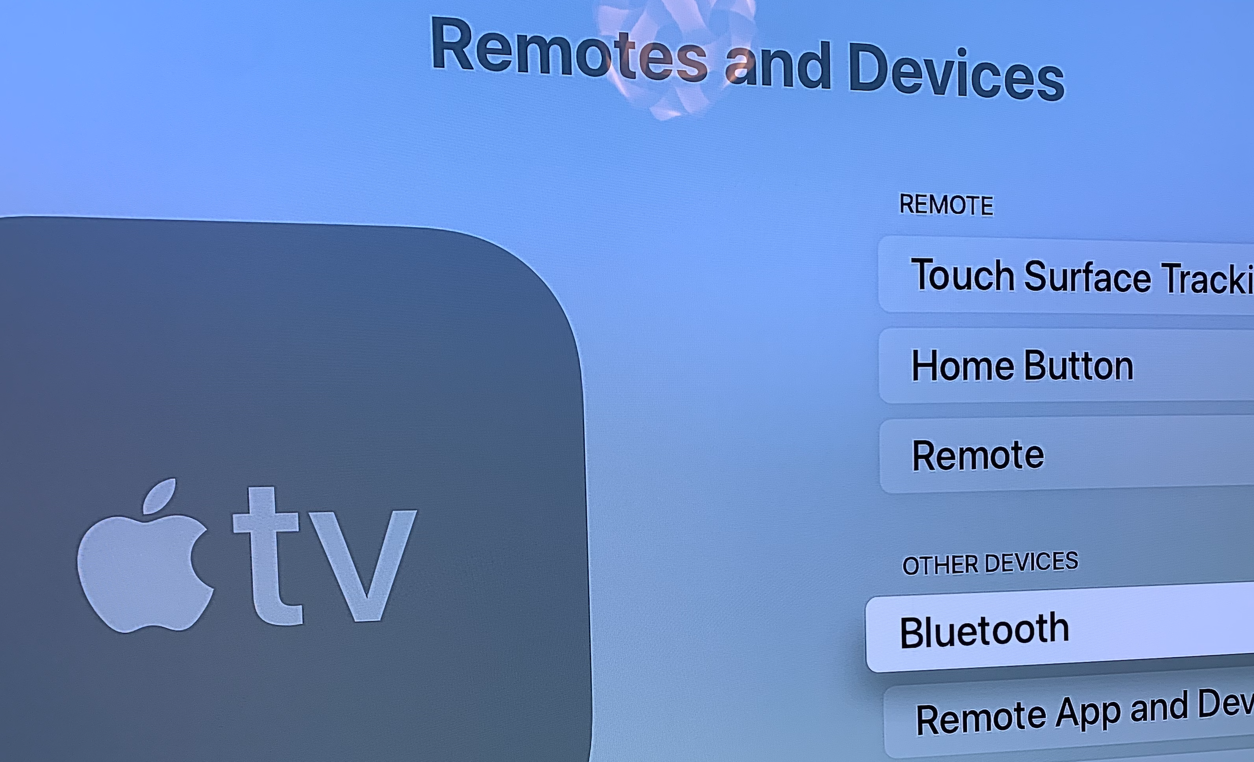 AirPods and Apple TV