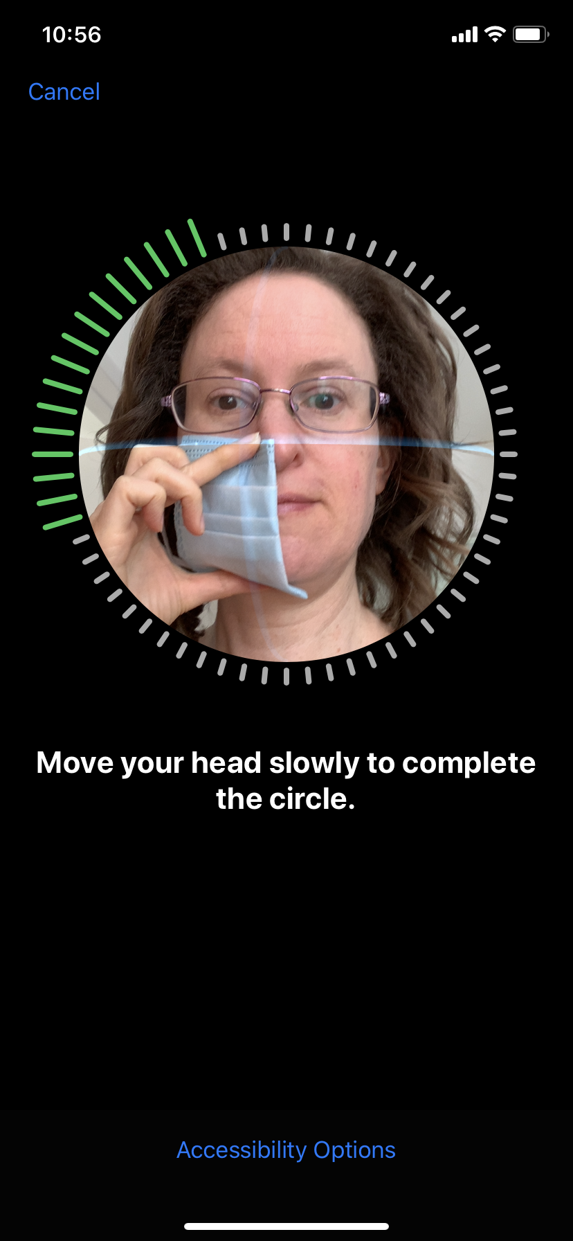 Scan Face with Mask