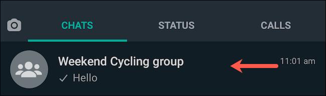 Visit WhatsApp group chat