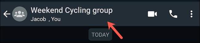 Visit WhatsApp group profile