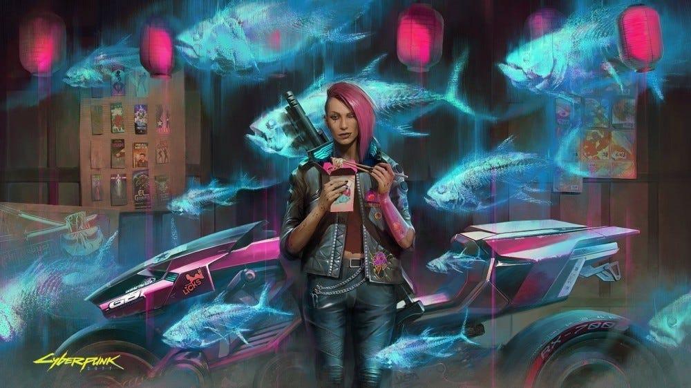 Cyberpunk 2077 promo image