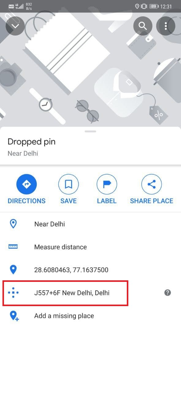 Use Plus Codes on Google Maps to Share Location