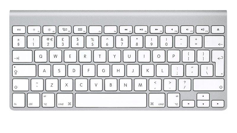 鍵盤Mac-右鍵單擊組合鍵