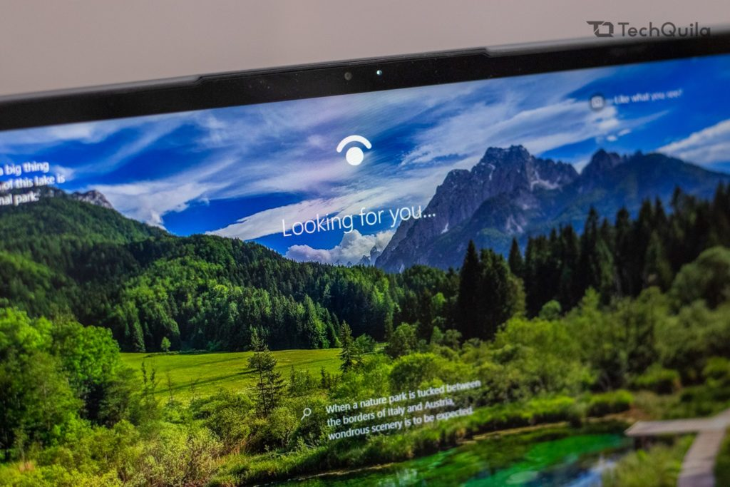 Lenovo Ideapad Slim 7 Windows Hello and Webcam
