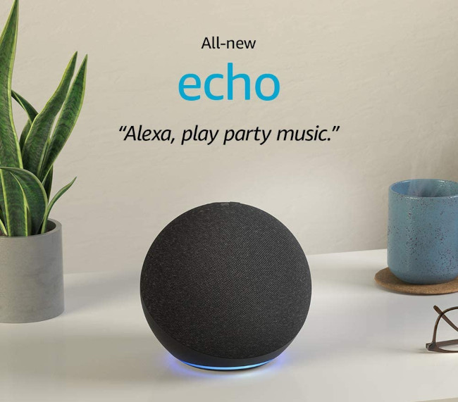 amazon echo fourth generation as best smart home speaker