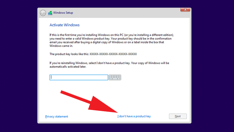 How to install Windows on Mac for Free: Product Key