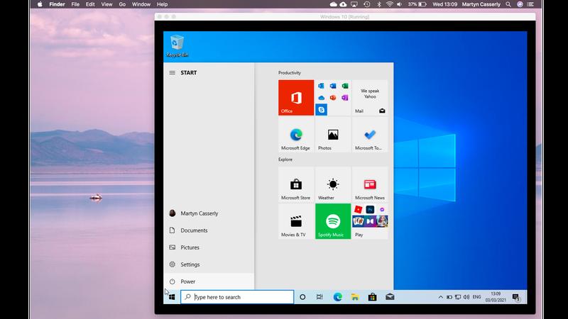 How to run Windows 10 on Mac for Free: Running Windows