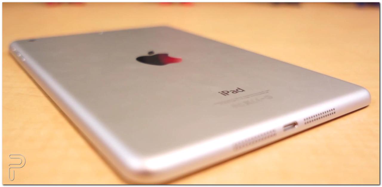 iPad Mini on a table
