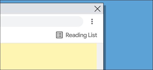 chrome reading list