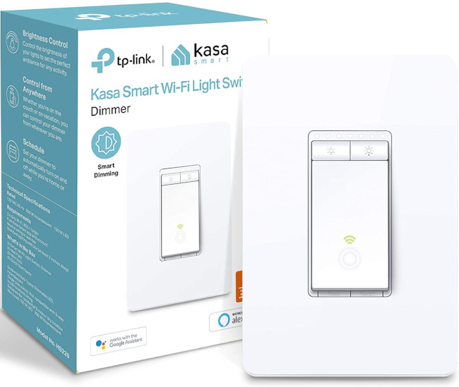 tp-link hs220 as the best smart home light switch