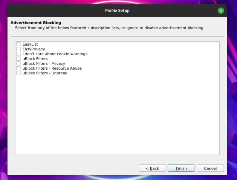 Viper Browser Setup