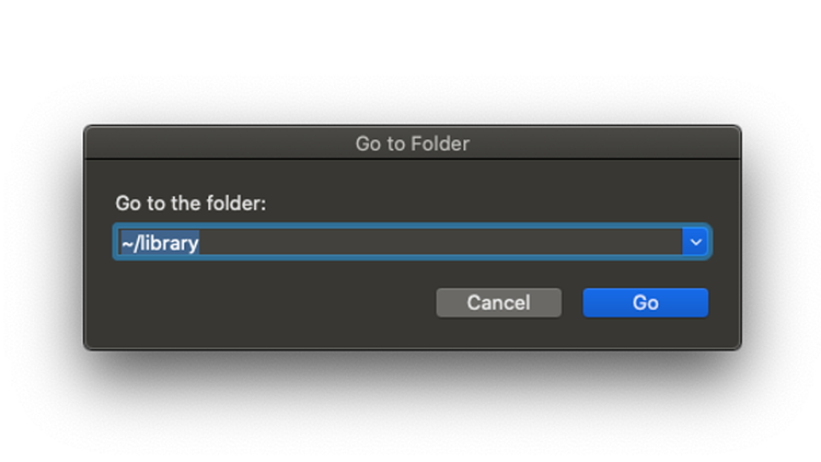 What is other storage on Mac: Finding the Library folder
