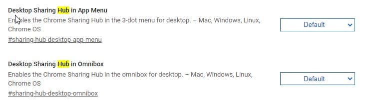 Chrome-desktop-Sharing-Hub-flags-1
