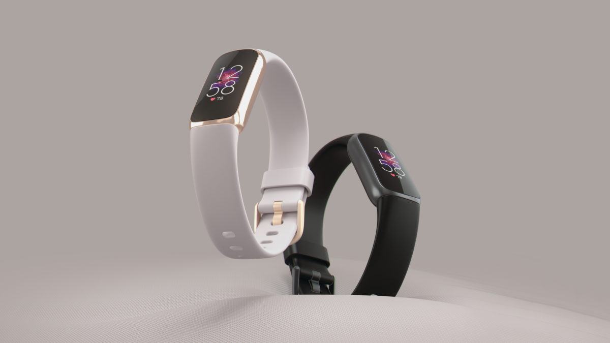 Fitbit Luxe Black and White