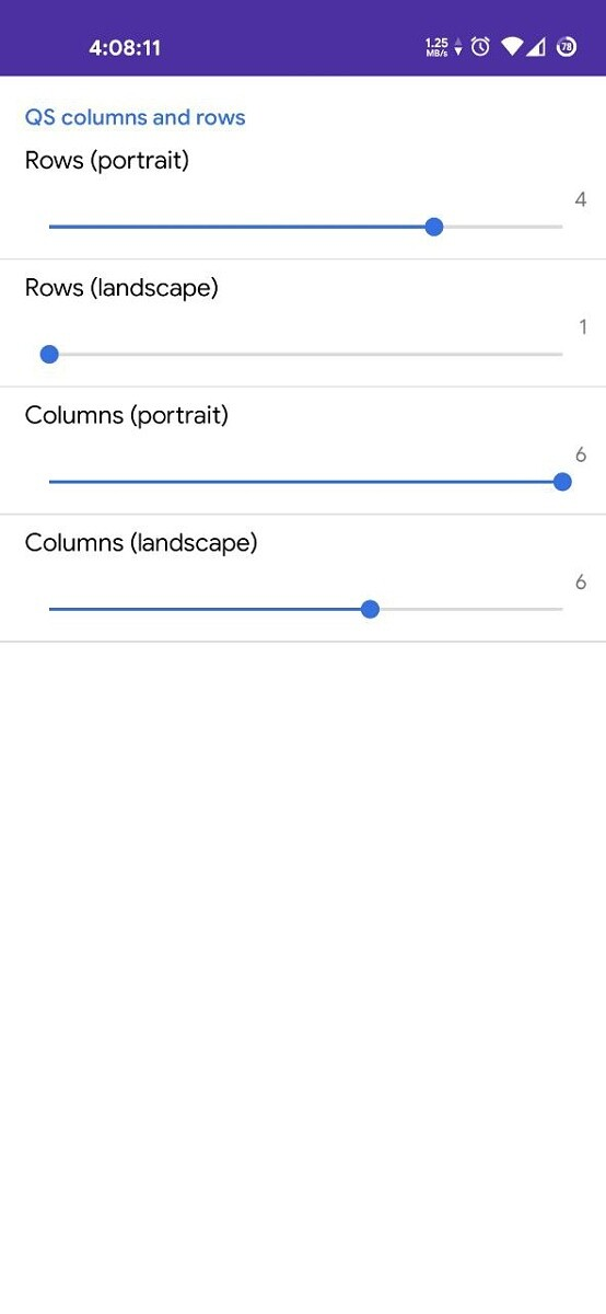 QS Rows x Columns