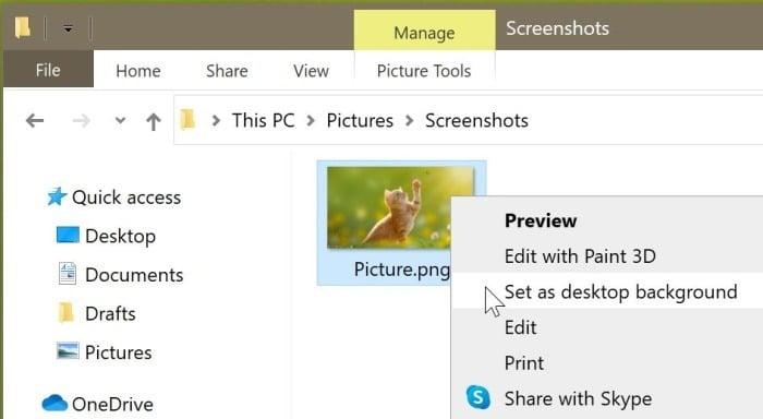 Set different wallpaper for each virtual desktop in Windows 10 pic5