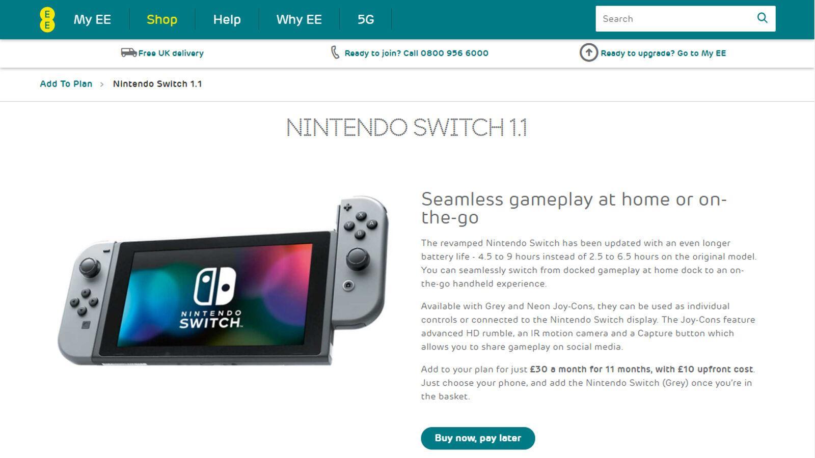 如何通過iPhone捆綁獲得Nintendo Switch