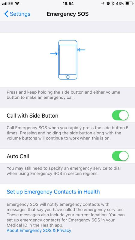 How to use SOS mode on iPhone