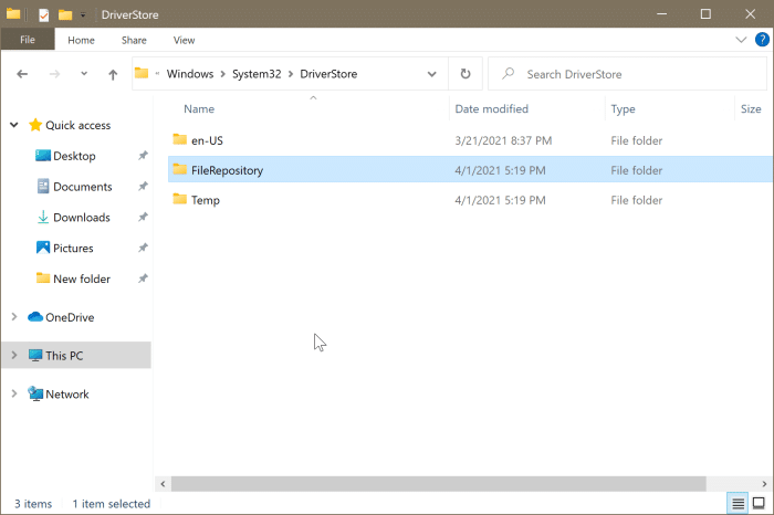 location of drivers in Windows 10 pic3