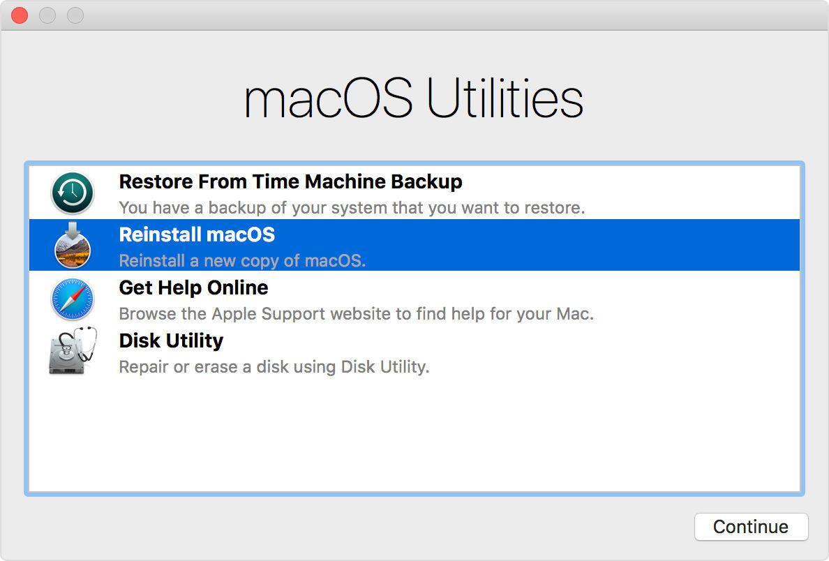 Recovery Mode Mac