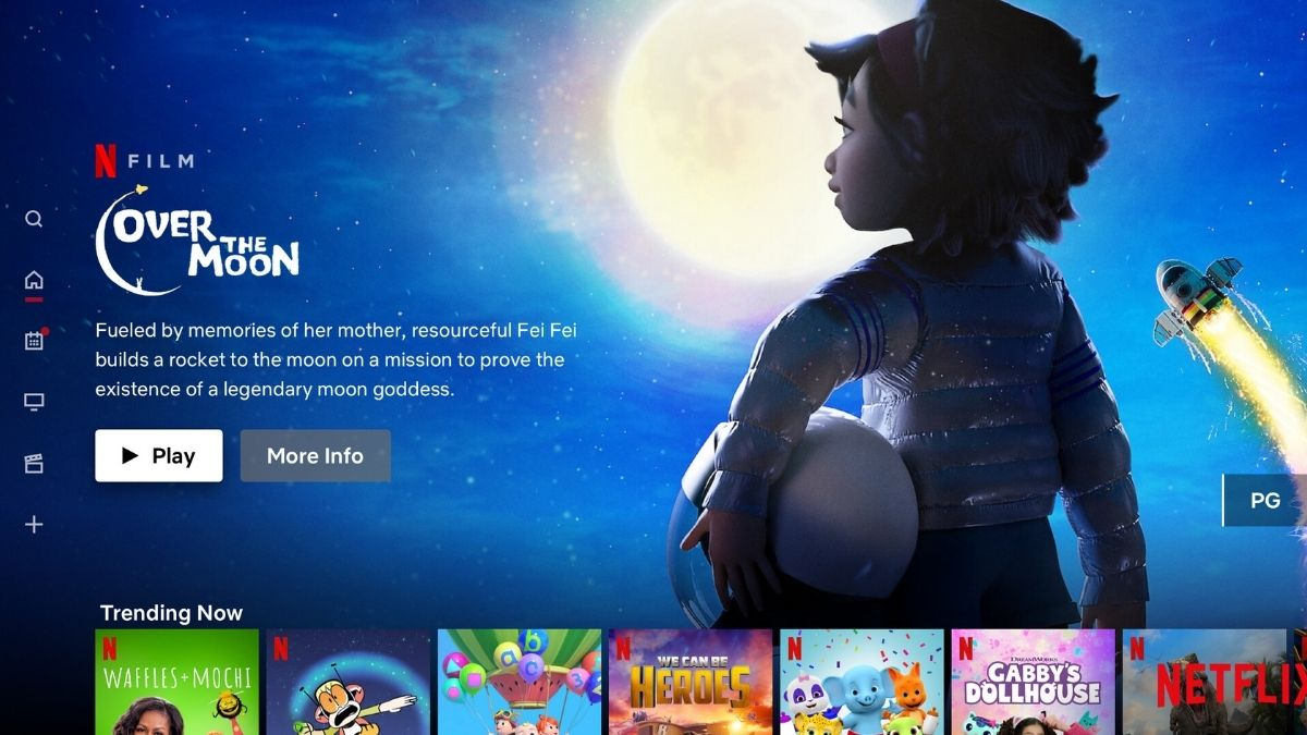"""Every family is different and every child is different and we are always looking to improve the Netflix experience to reflect that. Today, we are literally """"over the moon"""" to share our redesigned kids profile on TV, which makes it easier and more fun for kids to engage with their favorite characters, shows or movies."""