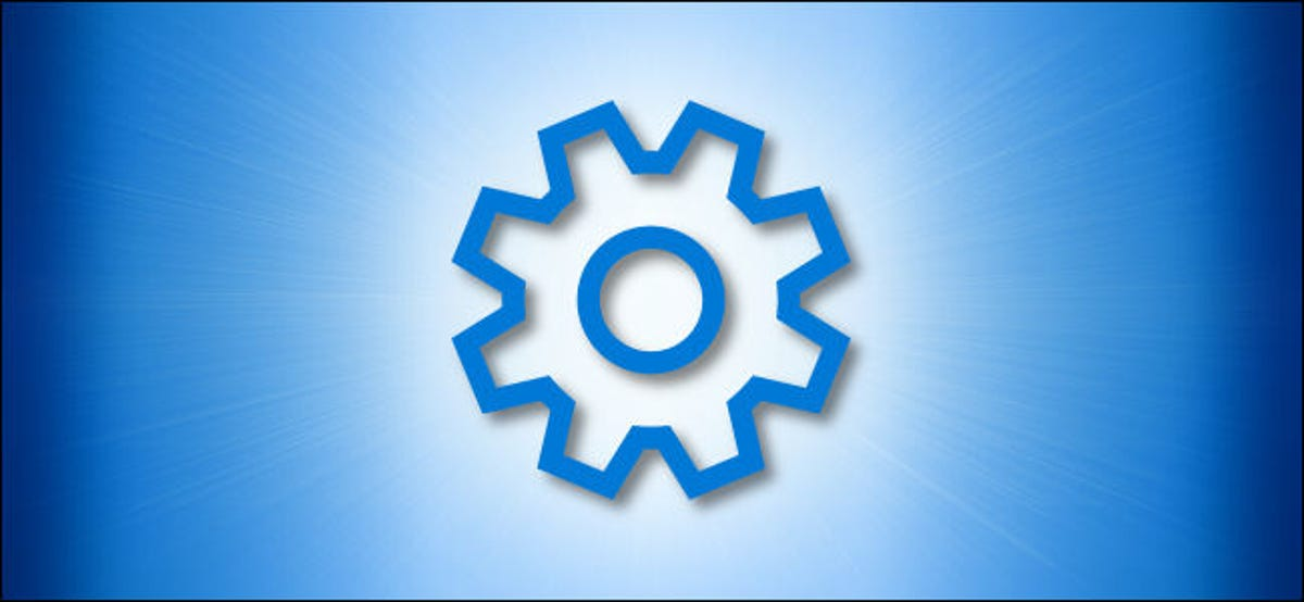 Windows Settings Gear Icon